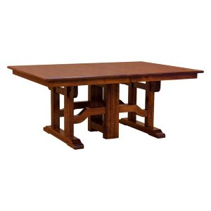Greene & Greene Dining Table with 12-Leaves