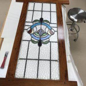 Greene and Greene Stained Glass Frame