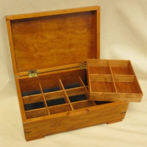 Small Cherry Jewelry Boxes
