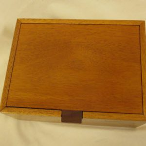 Small Mahogany Jewelry Boxes