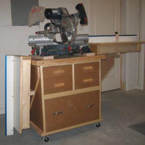 Miter Saw/Planer Bench